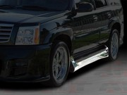 EXE Style Side Skirts For Cadillac Escalade 2002-2006