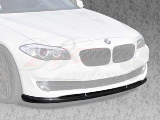 H-Tech Style Carbon Fiber Front Lip For BMW F10 2011-2014