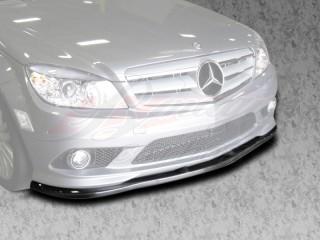 DL Style Front Carbon Fiber Lip For Mercedes W204 C-Class 2008-2011