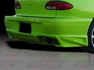 BMX Style Rear Bumper Cover For Chevrolet Cavalier 1995-2002