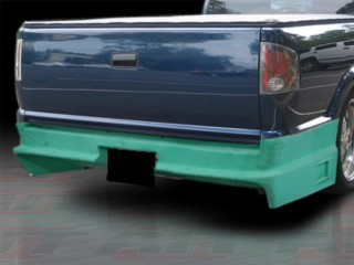 Drift Style Rear Bumper Cover For Chevrolet S10 1994-2004