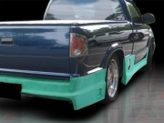 Drift Style Side Skirts For Chevrolet S10 1994-2004
