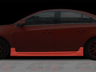 STRIKER Style Side Skirts For Chevrolet Cruze 2011-2014