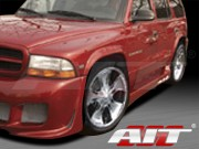 EXE Style Side Skirts For 1998-2003 Dodge Durango