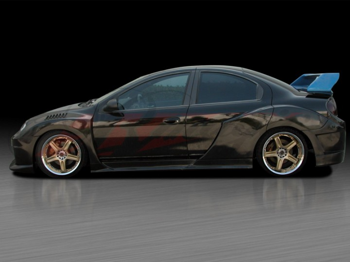 K1 Series Wide Body Kits For Dodge Neon 2003 2005