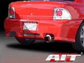 Revolution Style Rear Bumper Cover For Dodge Neon 1995-1999