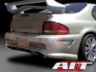 Combat Style Rear Bumper Cover For Dodge Stratus 1995-2000