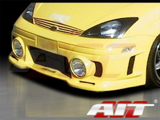 Evo Style Front Bumper Cover For Ford Focus 2000-2004