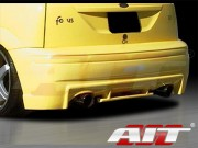 Evo Style Rear Bumper Cover For Ford Focus 2000-2004