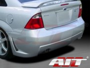 ZEN Style Rear Bumper Cover For Ford Focus 2005-2006 ZX4