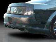 Stallion III Style Rear Bumper Cover For Ford Mustang 2005-2009