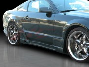 Stallion III Style Side Skirts For Ford Mustang 2005-2009