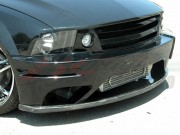 Carbon Lip Fits Stallion Style Front Bumper For Ford Mustang 2005-2009