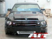 Type-E Style Functional Ram Air Hood For Ford Mustang 2005-2009