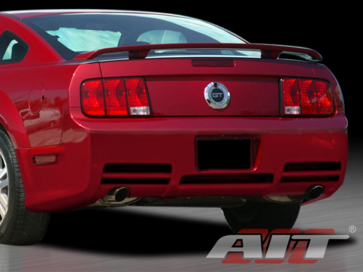sln style rear bumper cover for ford mustang 2005 2009. Black Bedroom Furniture Sets. Home Design Ideas