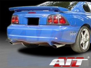 SLN Style Rear Bumper Cover For Ford Mustang 1994-1998