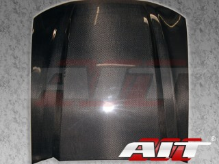 Type-4 Style Style Functional Cooling Cowl Hood For Ford Mustang 1999-2004(Carbon)