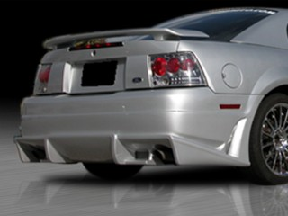 VASCIOUS  Series Rear Bumper Cover For Ford Mustang 1999-2004