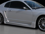 VASCIOUS  Series Side Skirts For Ford Mustang 1999-2004