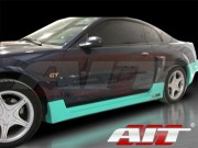 SIN Style Side Skirts For Ford Mustang 1999-2004