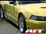 Stallion-2 Style Side Skirts For Ford Mustang 1999-2004