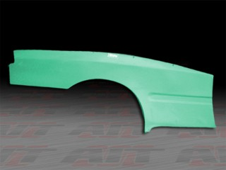Feel's Style wide rear fender panel For Honda Civic 1992-1995 Coupe
