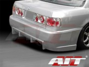 BC Style Rear Bumper Cover For Honda Accord 1990-1993