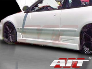 BC Style Side Skirts For Honda Accord 1990-1993