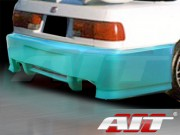 Sin Style Rear Bumper Cover For Honda Accord 1990-1993
