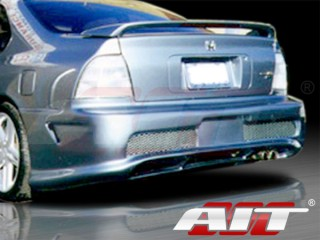 Combat Style Rear Bumper Cover For Honda Accord 1994-1995