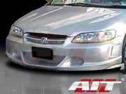 EVO2 Style Front Bumper Cover For Honda Accord 1998-2002 Coupe