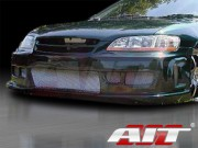 Revolution Style Front Bumper Cover For Honda Accord 1998-2002 Sedan