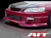 SF2 Style Front Bumper Cover For Honda Accord 1998-2002 Coupe