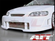 SIN Style Front Bumper Cover For Honda Accord 1998-2002 Sedan