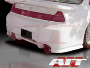 SIN Style Rear Bumper Cover For Honda Accord 1998-2002 Coupe