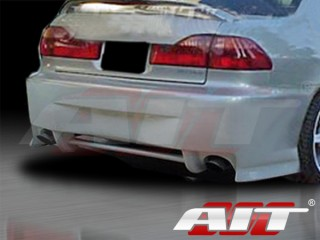 SIN Style Rear Bumper Cover For Honda Accord 1998-2002 Sedan