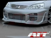 R34 Style Front Bumper Cover For Honda Civic 2001-2003