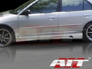 R34 Style Side Skirts For Honda Civic 2001-2005 Sedan