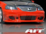 ZEN Style Front Bumper Cover For Honda Civic 2001-2003