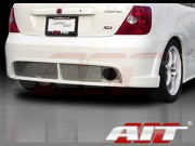 BCN1 Style Rear Bumper Cover For Honda Civic Si 2002-2005