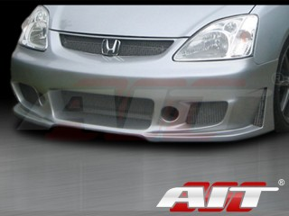ZEN Style Front Bumper Cover For Honda Civic Si 2002-2005