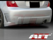 ZEN Style Rear Bumper Cover For Honda Civic Si 2002-2005