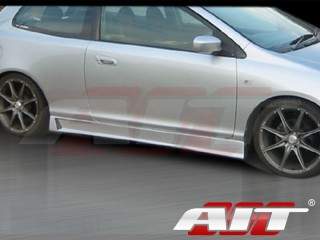 ZEN Style Side Skirts For Honda Civic Si 2002-2005