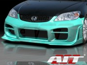 R34 Style Front Bumper Cover For Honda Civic 2004-2005