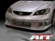 TZ Style Front Bumper Cover For Honda Civic 2004-2005