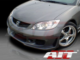 ZEN Style Front Bumper Cover For Honda Civic 2004-2005