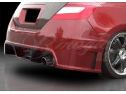Ace Series rear  bumper For Honda Civic 2006-2008 Coupe
