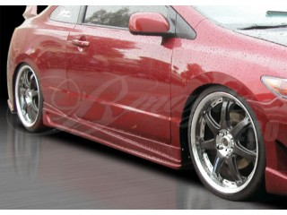 Ace Series Side Skirts For Honda Civic 2006-2008 Coupe