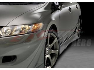 Ace Series Side Skirts For Honda Civic 2006-2008 Sedan