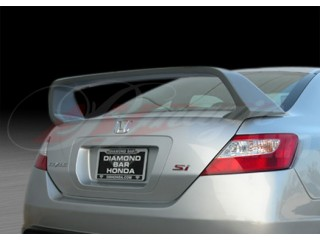 JDM-R Style Rear Trunk Lid Spoiler For Honda Civic 2006-2011 Sedan
